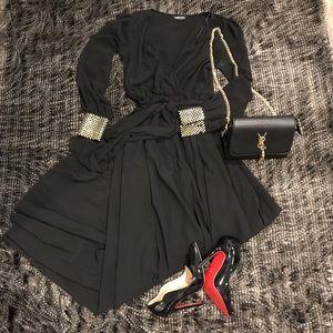 Evening gown maxi dress